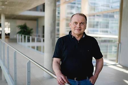 Klaus-Peter Stiefel arbeitet im Team Cognitive Environments am Fraunhofer-Institut für Arbeitswirtschaft und Organisation (IAO). Foto: Fraunhofer IAO/dpa-tmn