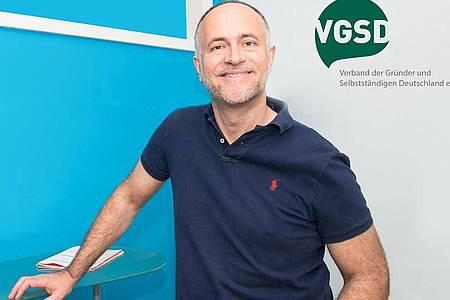 Andreas Lutz ist Vorsitzender des Verbands der Gründer und Selbstständigen Deutschland (VGSD). Foto: Thomas Dreier/VGSD/dpa-tmn