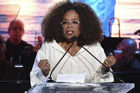 Oprah Winfrey will den Schwächsten helfen. Foto: Evan Agostini/Invision/AP/dpa