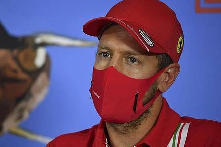 Hat noch nicht über seine weitere Zukunft entschieden: Ferrari-Pilot Sebastian Vettel. Foto: Mark Sutton/MSN POOL/AP/dpa