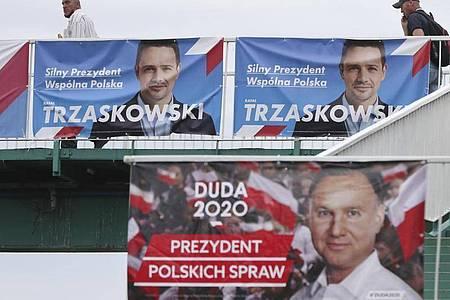 Gut 30 Millionen Menschen sind in Polen wahlberechtigt. Foto: Czarek Sokolowski/AP/dpa