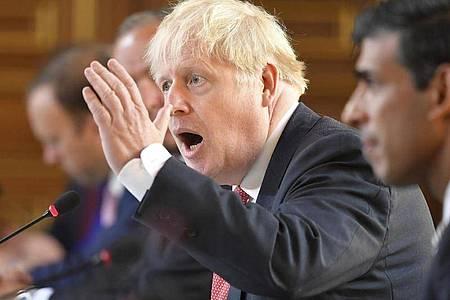 Boris Johnson fordert von der EU mehr Entgegenkommen. Foto: Toby Melville/Reuters Pool/AP/dpa