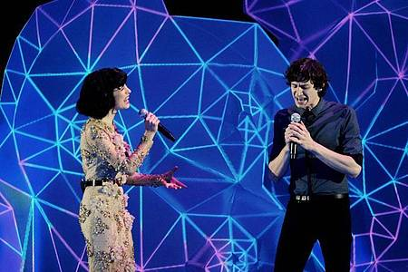 Gotye (r) und Kimbra gelang mit «Somebody That I Used To Know» ein Mega-Hit. Foto: picture alliance / dpa