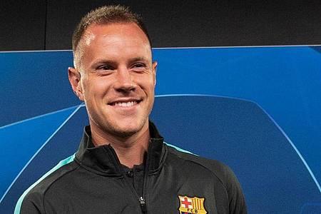 Marc-Andre ter Stegen steht noch bis Juni 2022 beim FC Barcelona unter Vertrag. Foto: Bernd Thissen/dpa