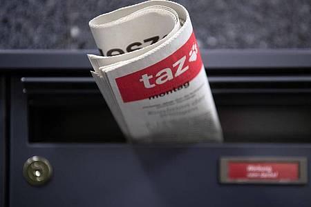 Einer Autorin der «taz» droht wegen einer Zeitungskolumne eine Anzeige. Foto: Soeren Stache/zb/dpa