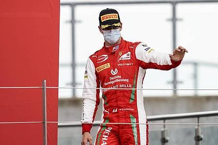 Wurde beim Sprintrennen der Formel 2, in Silverstone Zweiter: Mick Schumacher. Foto: James Gasperotti/ZUMA Wire/dpa