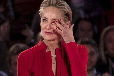Sharon Stone:Der Kopf «ist unser Sicherungskasten». Foto: Massimo Percossi/ANSA/dpa