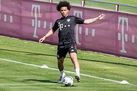Wechselte zum FC Bayern:Nationalspieler Leroy Sané. Foto: Matthias Balk/dpa