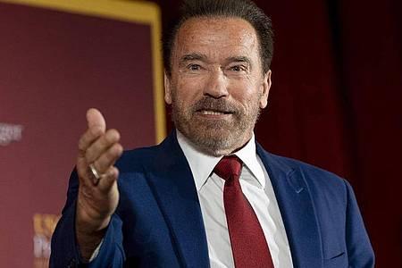 Arnold Schwarzenegger soll in der Serie einen Spion spielen. Foto: Paul Bersebach/Orange County Register via ZUMA/dpa