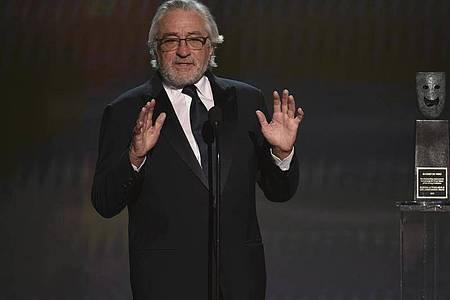Robert De Niro:«Wir werden da durchkommen.». Foto: Chris Pizzello/Invision/AP/dpa