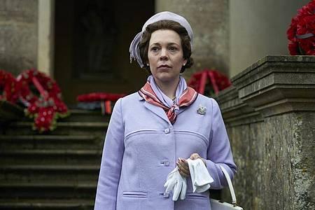 Olivia Colman als Queen Elizabeth in «The Crown». Foto: Des Willie/Netflix/dpa