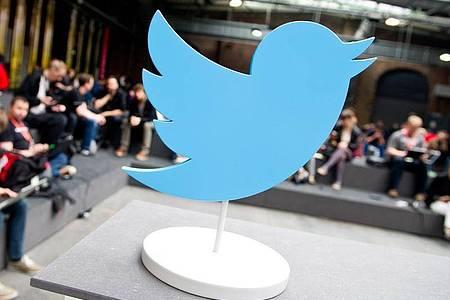 Twitter auf der Konferenz «re:publica» in Berlin. Foto: picture alliance / Christoph Schmidt/dpa