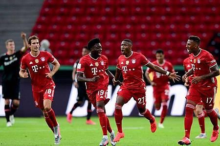 Zum 20. Mal heißt der DFB-Pokalsieger Bayern München. Foto: Robert Michael/dpa-Zentralbild/Pool/dpa