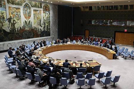 Ein politischer Machtkampfzwischen den USA und China hatte den UN-Sicherheitsrat in den vergangenen Wochen an den Rand des Scheiterns gebracht. Foto: Li Muzi/XinHua/dpa