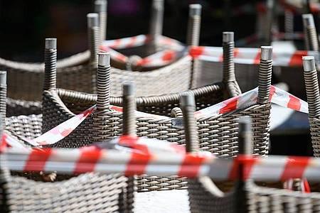 Restaurants bleiben geschlossen. Foto: Sebastian Gollnow/dpa
