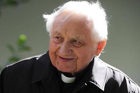Georg Ratzinger, der ältere Bruder des emeritierten Papstes Bendikt XVI. ist gestorben. Foto: picture alliance / dpa