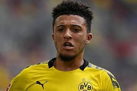 Jadon Sancho ist bis 2022 vertraglich an den BVB gebunden. Foto: Bernd Thissen/dpa
