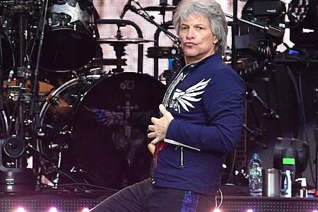 Jon Bon Jovi sehnt eine Überwindung der Spaltung Amerikas herbei. Foto: Ian West/PA Wire/dpa