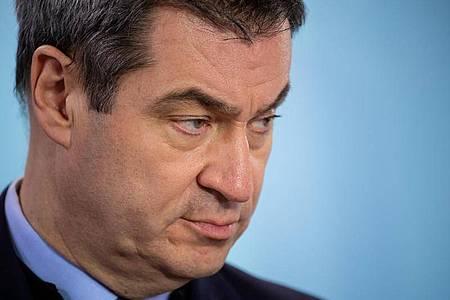 Markus Söder (CSU), Ministerpräsident von Bayern, will 10 Milliarden Euro für die Coronakrise bereitstellen. Foto: Sven Hoppe/dpa