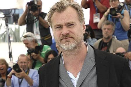 Regisseur Christopher Nolan beim Filmfestival in Cannes 2018. Foto: Arthur Mola/Invision/AP/dpa