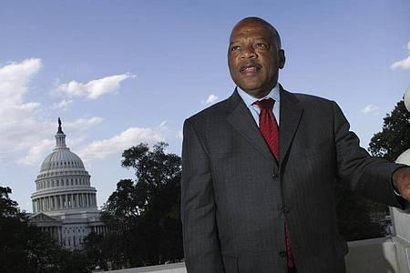 John Lewis im Oktober 2007 auf dem Capitol Hill in Washington. Foto: Lawrence Jackson/AP/dpa