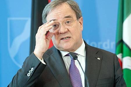 Nordrhein-Westfalens Ministerpräsident Armin Laschet ist einer von drei Bewerbern für den CDU-Vorsitz. Foto: Federico Gambarini/dpa