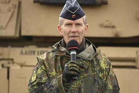 General Martin Schelleis, Inspekteur der Streitkräftebasis der Bundeswehr. Foto: Karsten Klama/dpa