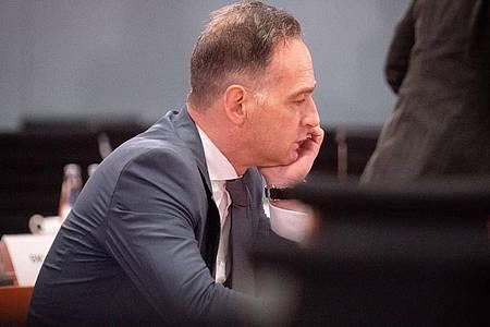 Außenminister Heiko Maas muss in Quarantäne. Foto: Kay Nietfeld/dpa Pool/dpa