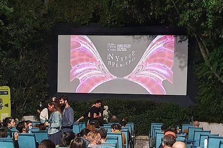 Das Filmfestival in Athen ging mit strengen Sicherheitsvorkehrungen über die Bühne. Foto: Vaiva Bauze/dpa