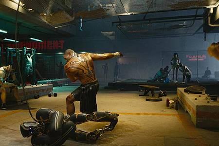 Das Spiel «Cyberpunk 2077» ist von seinemUmfang her extrem ambitioniert. Foto: CD Projekt Red/dpa-tmn