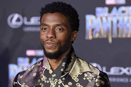 Chadwick Boseman bei der Premiere von «Black Panther» in Los Angeles. Foto: Chris Pizzello/Invision/AP/dpa