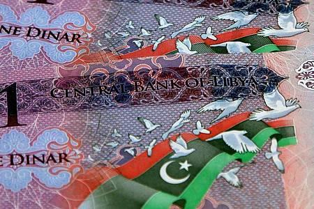 Ingesamt wurden Banknoten im Wert von 1,1 Milliarden Dollar sichergestellt. Foto: Sabri Elmhedwi/EPA/dpa