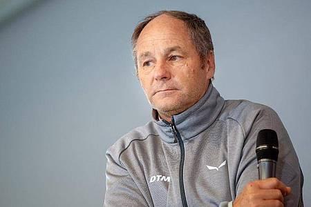 Kämpft weiter um den Fortbestand der DTM:Renn-Boss Gerhard Berger. Foto: Monika Skolimowska/dpa-Zentralbild/dpa