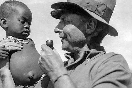 Fast 60 Jahre lang unternahm der Afrikaforscher Hans Schomburgk Expeditionen. In den letzten Jahren seines Lebens setzte er sich mit Nachdruck für einen respektvolleren Umgang mit Afrika, seinen Menschen und ihren Kulturen ein. Foto: --/NDR/Leibniz-Institut für Länderkunde - IfL/dpa