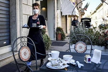 Italien schließt wegen Covid-19 alle Geschäfte und Restaurants. Foto: Claudio Furlan/Lapresse/LaPresse/dpa