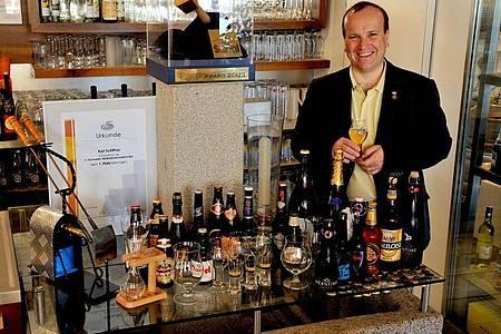 Karl Schiffner ist Biersommelier und Gastronom im österreichischen Aigen-Schlägl. Foto: Dr. Werner Schiffner/dpa-tmn