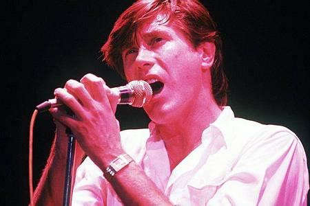 Bryan Ferry im Jahr 1980. Foto: Frank Leonhardt/dpa