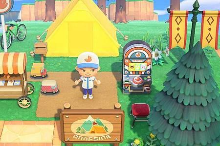 Immer schön langsam:In «Animal Crossing:New Horizons» geht es eigentlich um nichts. Außer darum, eine gute Zeit zu haben. Foto: Nintendo/dpa-tmn