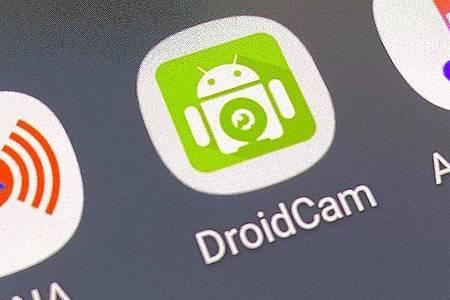 Es braucht nicht mehr als eine App, um aus einer Smartphone-Kamera eine Webcam für den Rechner zu machen. Foto: Till Simon Nagel/dpa-tmn