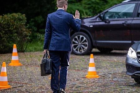 Philipp Amthor hatte vergangene Woche den Verzicht seiner Kandidatur erklärt. Foto: Jens Büttner/dpa-Zentralbild/dpa