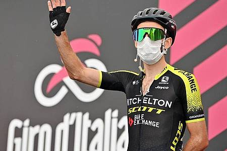 Prominenter Corona-Fall beim Giro d`Italia: Simon Yates. Foto: Massimo Paolone/LaPresse/dpa