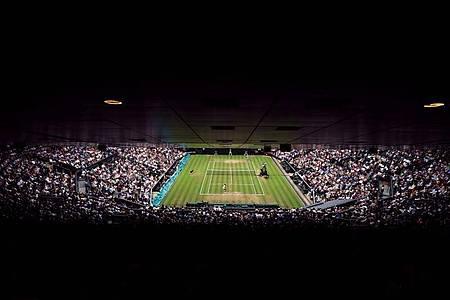 Das Grand-Slam-Turnier in Wimbledon könnte abgesagt werden. Foto: picture alliance / Adam Davy/PA Wire/dpa