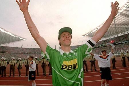 Gewann zahlreiche Titel mit Werder Bremen: Rune Bratseth. Foto: Andreas Altwein/dpa