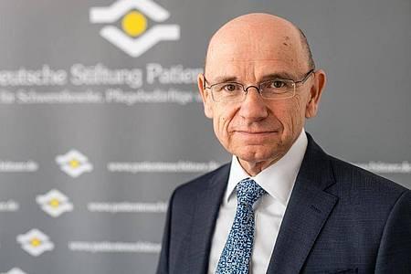 Eugen Brysch ist Vorstand der Deutschen Stiftung Patientenschutz. Foto: Deutsche Stiftung Patientenschutz/dpa-tmn