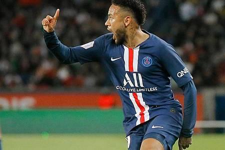 Brachte PSG gegen denBVB mit seinem Tor auf die Siegerstraße: Neymar. Foto: Michel Euler/AP/dpa