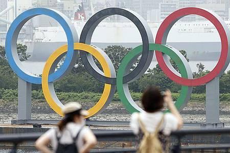Trotz Verschiebung sind die Olympischen Spiele 2021 in Tokio alles andere als sicher. Foto: -/kyodo/dpa