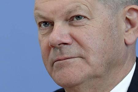 Olaf Scholz ist im Kabinett Merkel für die Finanzen zuständig. Foto: Michael Sohn/POOL AP/dpa