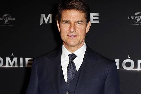 US-Schauspieler Tom Cruise will mit Doug Liman hoch hinaus. Foto: Francois Mori/AP/dpa