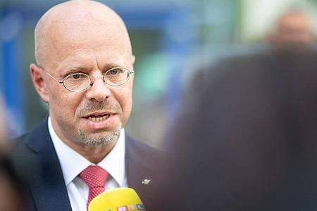 Will weiter Fraktionschef der AfD bleiben:Andreas Kalbitz. Foto: Sebastian Gollnow/dpa