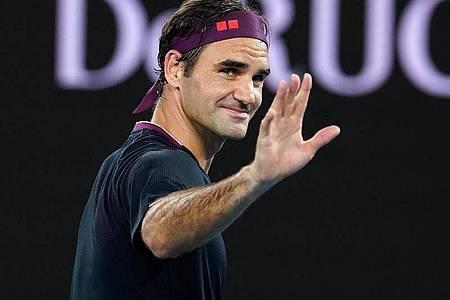 Roger Federer will Schweizer Familien helfen. Foto: Dave Hunt/AAP/dpa